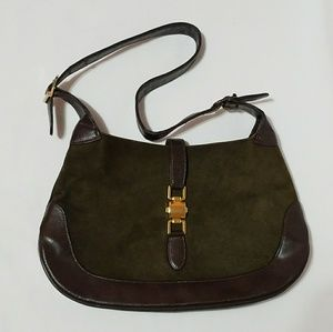 Bags - Beautiful green and Brown purse